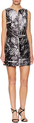Milly Women's Printed Sheath Dress