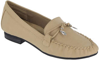 MIA AMORE Mia Amore Womens Mindy Loafers Strap Round Toe