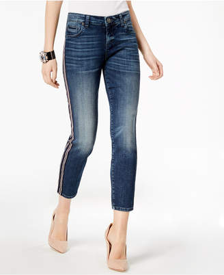 KUT from the Kloth Catherine Striped Straight-Leg Jeans
