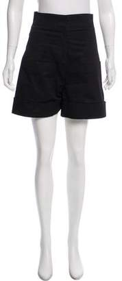 Derek Lam High-Rise Tailored Shorts