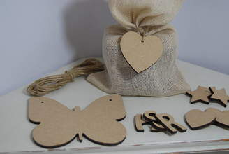 Craft Heaven Personalised Butterfly Wooden Bunting