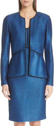 St. John Luster Sequin Knit Jacket