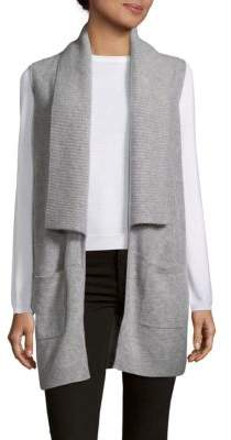 Saks Fifth Avenue Cashmere Ribbed Vest