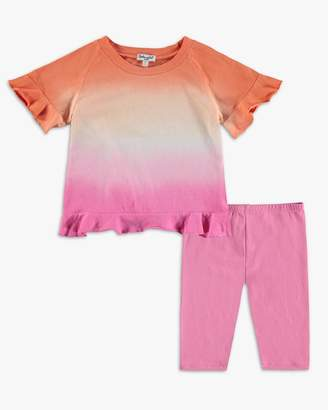 Splendid Baby Girl Dip Dye Open Top Set