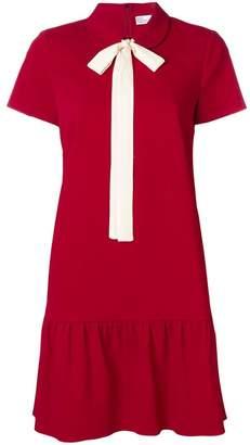 RED Valentino pussy bow mini dress