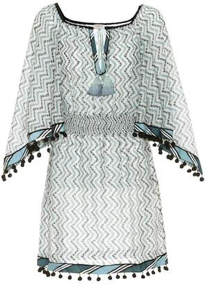 Talitha Cotton and silk cover-up