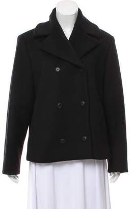 Balenciaga Double-Breasted Wool Coat