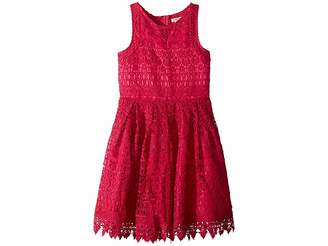 Nanette Lepore Kids Crochet Lace/Eyelet Dress (Little Kids/Big Kids)