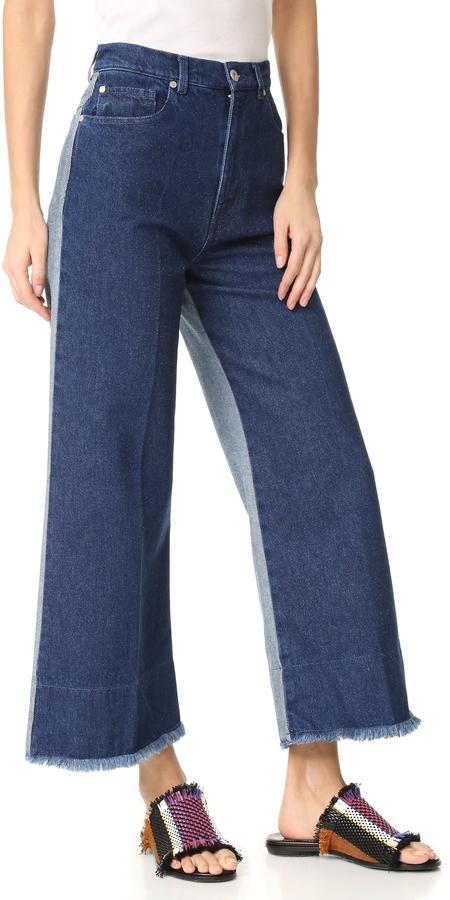 Cédric CharlierCedric Charlier Flared Jeans