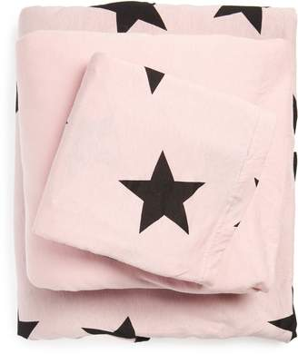 Nununu Star Duvet Cover & Sheet Set