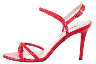 Sarah Jessica Parker Braided Crossover Sandals