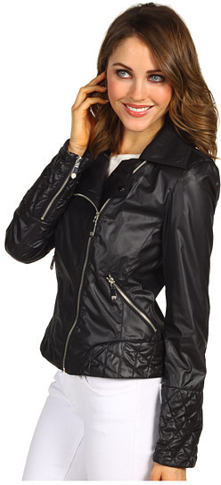 Vince Camuto Short Motorcycle Jacket