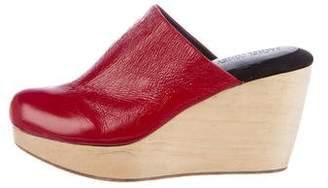 Rachel Comey Leather Mule Wedges