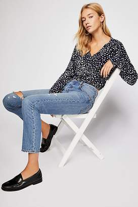 Wishing Well Printed Top