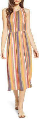 BP Smocked Midi Dress