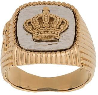 Dolce & Gabbana crown signet ring