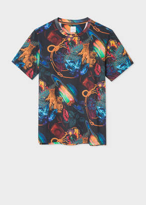 Paul Smith Men's 'Explorer' Print T-Shirt