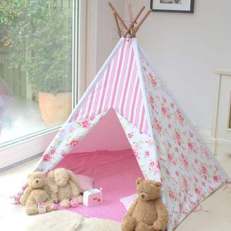 Little Ella James Pink Floral Wigwam