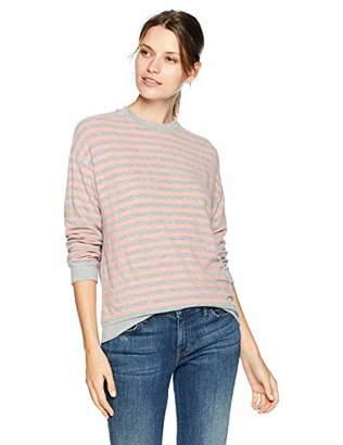 Velvet by Graham & Spencer Women's Landry Cozy Stripe top