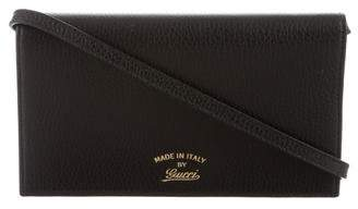 Gucci Swing Wallet On Strap