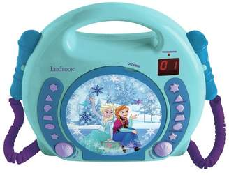Disney Frozen CD Player with 2 Microphones