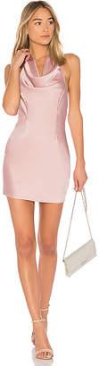 by the way. Stella Drape Satin Mini Dress