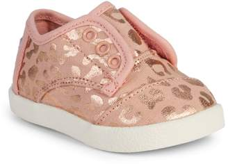 Toms Baby Girl's & Little Girl's Paseo Cheetah-Print Sneakers