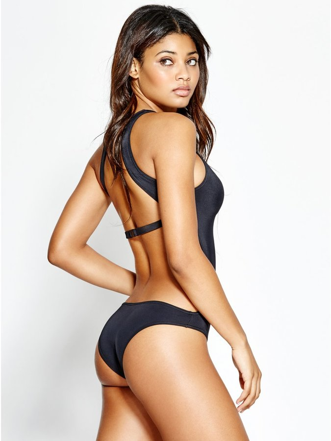 GUESS One-Piece Logo Swimsuit