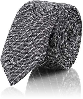 Barneys New York Men's Pinstriped Wool-Silk Necktie