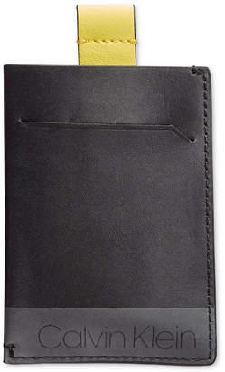 Calvin Klein Pull-Tab Leather Cardholder