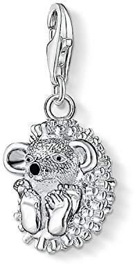 Thomas Sabo Women-Charm Pendant Hedgehog Charm Club 925 Sterling Silver 1095-007-12 2AqnTL