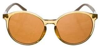 3ffd958f3366 Linda Farrow The Row x Oversize Round Sunglasses