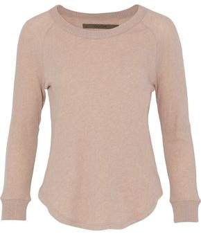 Enza Costa Slub Cotton And Cashmere-Blend Top
