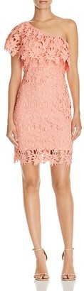Lush Lace One Shoulder Dress - 100% Exclusive $78 thestylecure.com