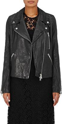 Barneys New York Women's Leather Moto Jacket $795 thestylecure.com
