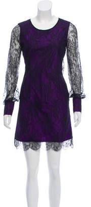 Alessandro Dell'Acqua Silk Lace Dress