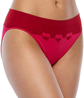 Ambrielle Plus Seamless High-Cut Panty