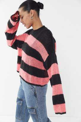 595342b0f1 The Ragged Priest Striped Long Sleeve Sweater. Urban Outfitters ...