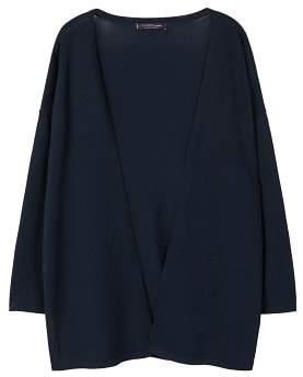Violeta BY MANGO Oversize flowy cardigan