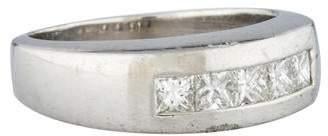 Fine Jewelry Ring Platinum & Diamond Band Ring
