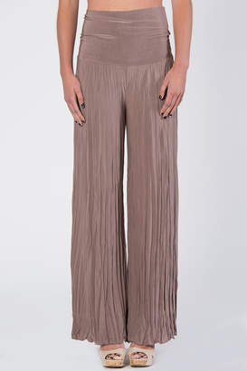 Catwalk Tan Pleated Pants