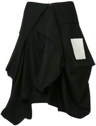 Yohji Yamamoto Cube box skirt