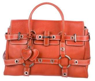 Pre Owned At Therealreal Luella Gisele Leather Handle Bag