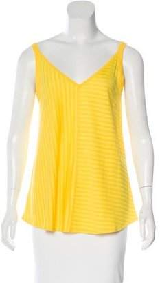 Sandro Striped Sleeveless Top w/ Tags $70 thestylecure.com
