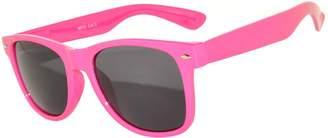 OWL Retro Vintage Sunglasses Blue-Green Frame Clear Lens Uv 400