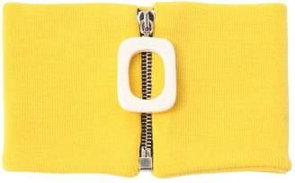 J.W.Anderson Zip Merino Wool Knit Neckband