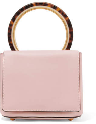 Marni Pannier Leather Tote - Pink
