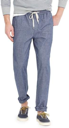 J. CREW Chambray Drawstring Pants