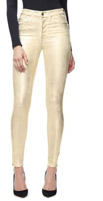 Good American Good Legs Waxed Jeans - Gold001