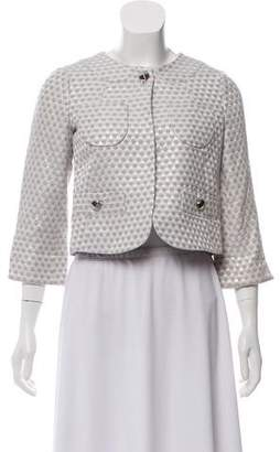 Marc by Marc Jacobs Cropped Brocade Jacket